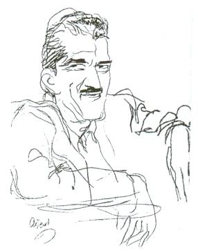 Ο Άχθος Αρούρης σε σκίτσο του Αντ. Πρωτοπάτση