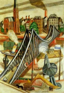 sarantakos-the-iron-footbridge-1922-by-max-beckmann